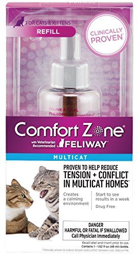 Best Thing I Have Gotten For Our Home Comfort Zone Multicat Refill Zone Http Www Amazon Com Dp B Cat Health Care Diffuser Refills Bottles For Sale