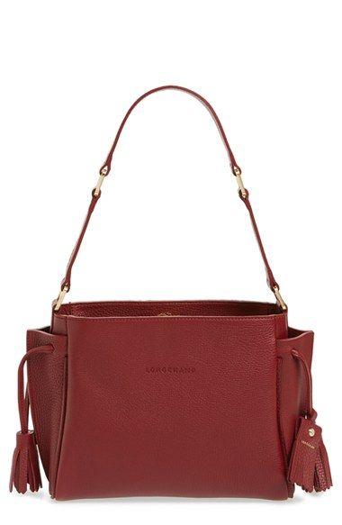 a22f60351b Longchamp 'Penelope' Leather Shoulder Bag available at #Nordstrom ...