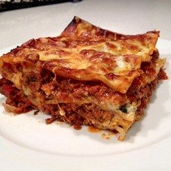 Kim S Lasagna Recipe Best Lasagna Recipe Recipes Baked Lasagna