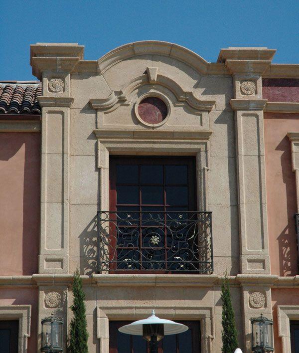 Architectural Cast Stone | Custom Design Cast Stone Window Surround Stone Legends