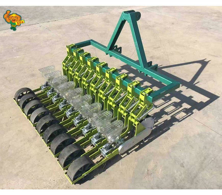 Tractor Drawn Seeding Machine Multi Function Onion Vegetable Seeder