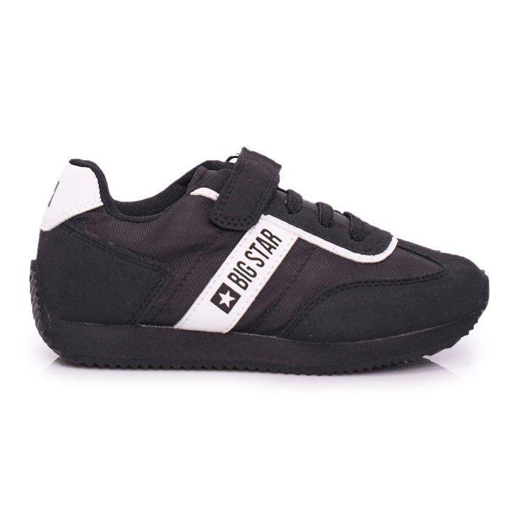 Sportowe Buty Dzieciece Big Star Na Rzepy Czarne Ff374134 Puma Sneaker Shoes Sneakers