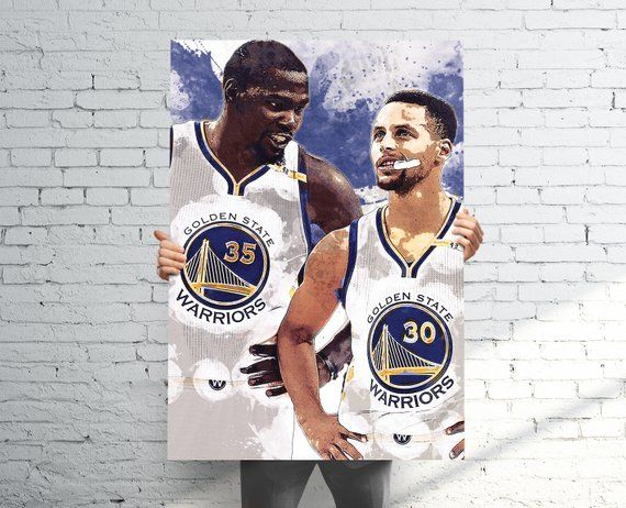 Steph Curry Kevin Durant Golden State Warriors Sports