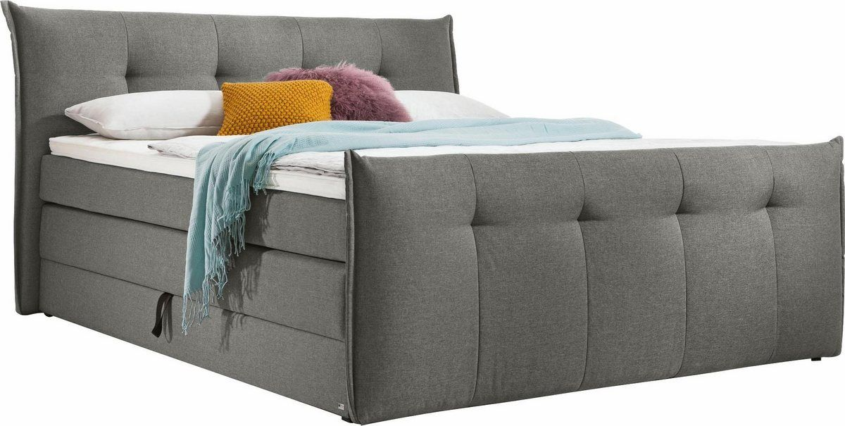 Boxspringbett Florida Mit Bettkasten In 5 Liegekomfortvarianten Romantische Deko Set One By Musterring Und Boxspringbett