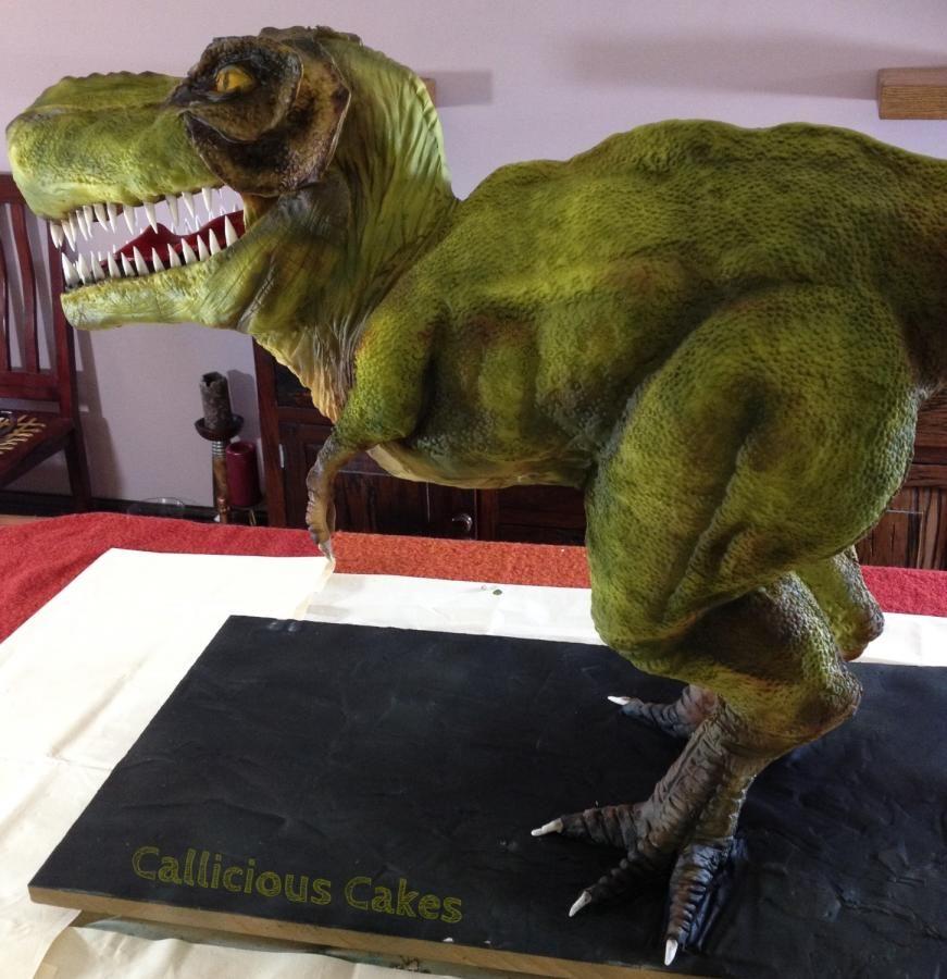 Dinosaur cake tutorial Baking Decorating Tricks Pinterest