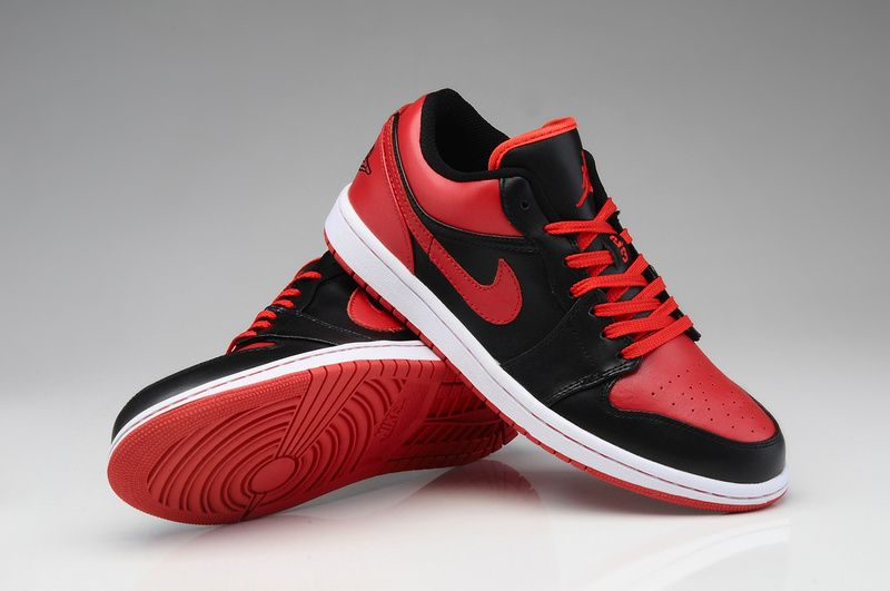 Buy Outlet Nike Air Jordan I 1 Retro Mens Shoes Low Red Black For Sale from  Reliable Outlet Nike Air Jordan I 1 Retro Mens Shoes Low Red Black For Sale  ...