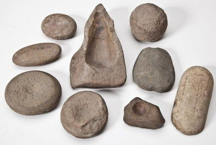 9 Native American Stone Tools - Feb 01, 2014 | Cordier Auctions & Appraisals in PA