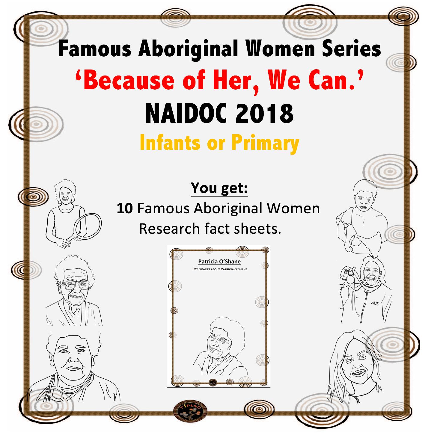 Naidoc Famous Australian Aboriginal Women Series