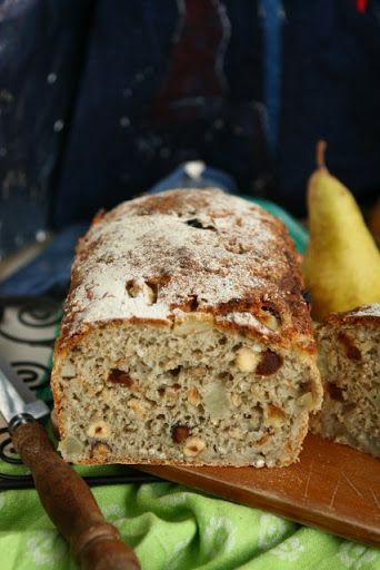 Alforfón Pan con pera y avellanas