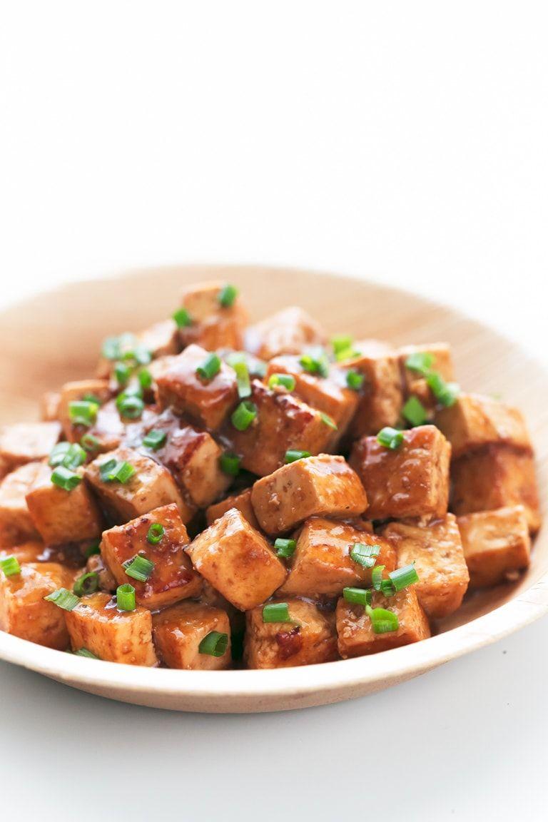 Easy Marinated Tofu Recipe (With images) Marinated