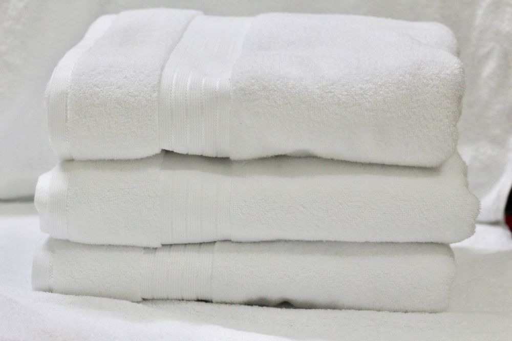Ob Bath Sheet Pure White 100 Cotton Luxury Jumbo Bath Towels Gsm