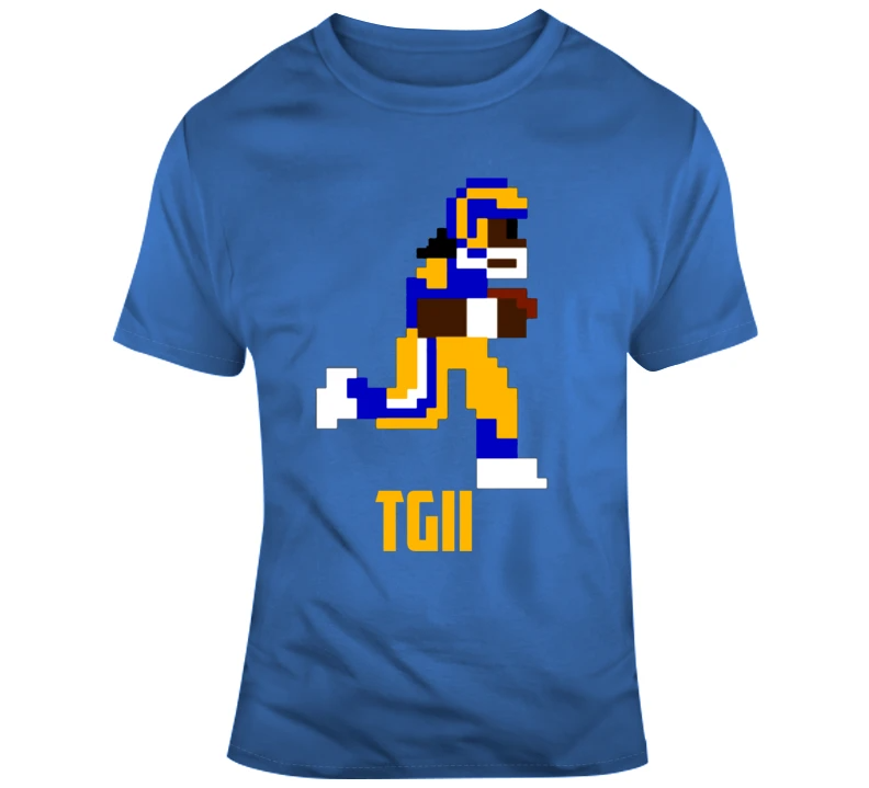 Todd Gurley Ii Tgii 8 Bit Tecmo Bowl Los Angeles Football Fan T Shirt Top Personalized Gifts T Shirts Clothing In 2021 Los Angeles Football Football Fans Todd Gurley
