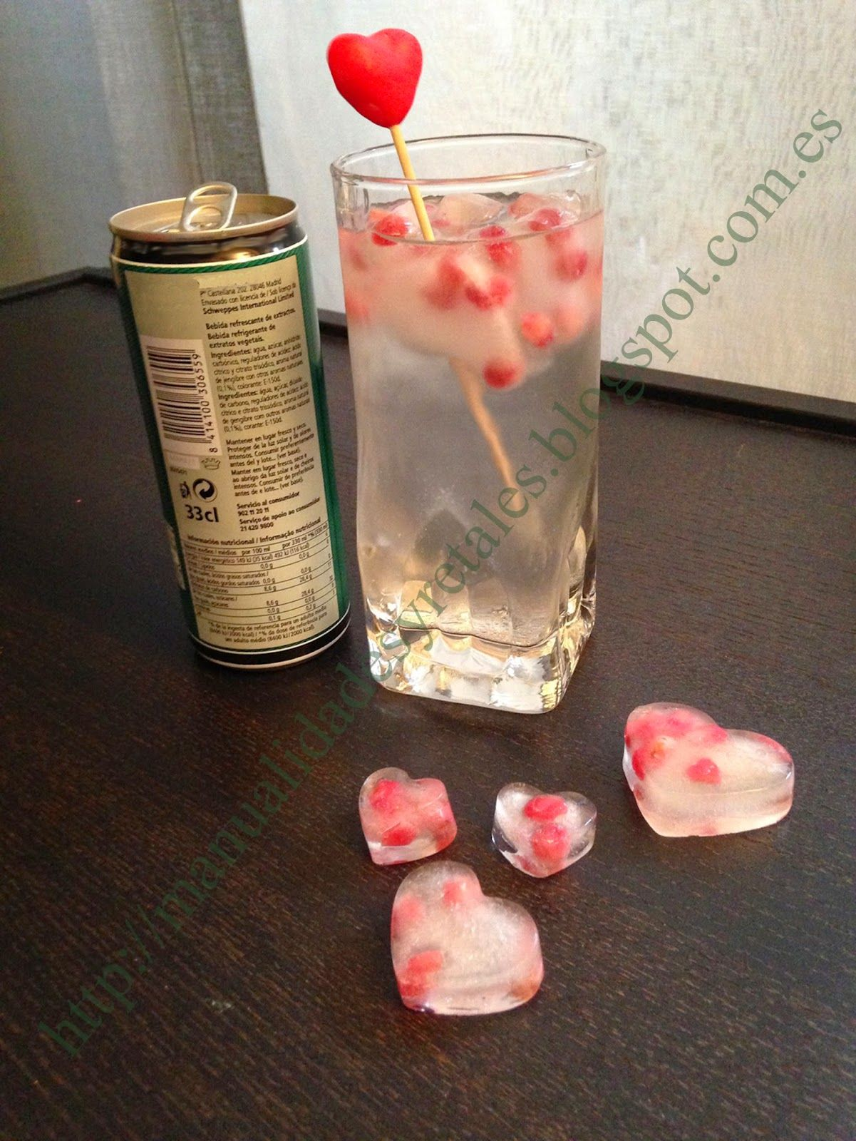 San valentin hielos originales aprende a hacer esta - Manualidades para decoracion ...