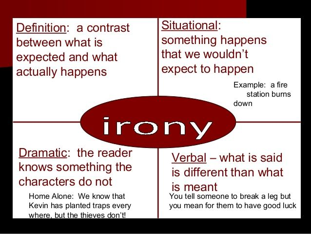Irony Examples Google Search For Those Who Really Know Me