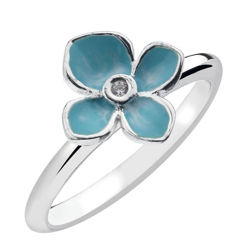 Virtue-Forget-Me-Not-Sterling-Silver-Stacking-Ring