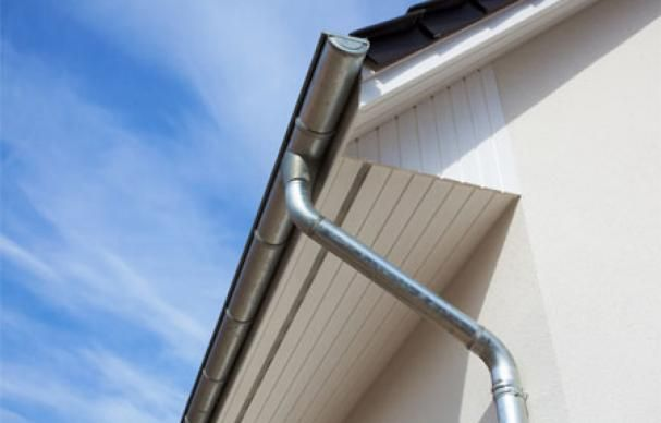 How To Size Gutters And Downspouts Cleaning Gutters Gutters Rain Gutters