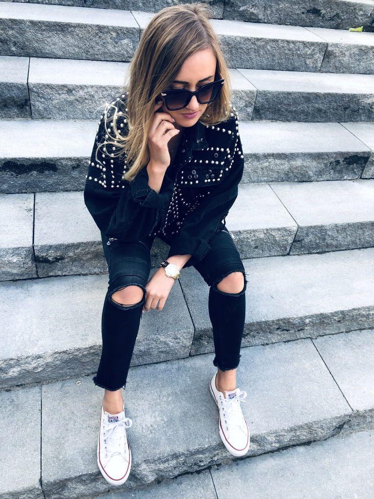 Katana Jazmin Black Jeans Dzety Black Jeans Black Fashion