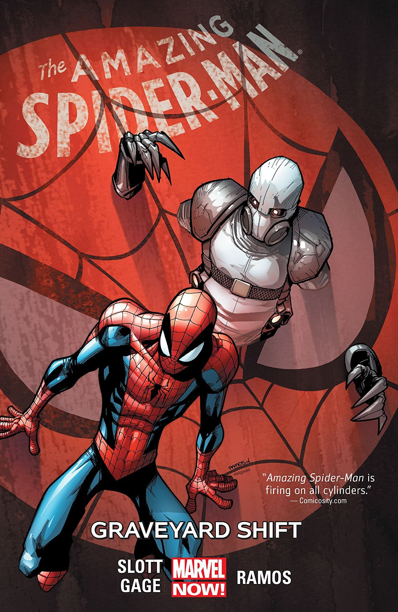 Amazing Spider Man Vol 4 Graveyard Shift Spiderman Amazing