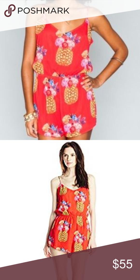 1c48a3e37 Show Me your MUMU Pineapple Romper Fun bright colors. Perfect for ...