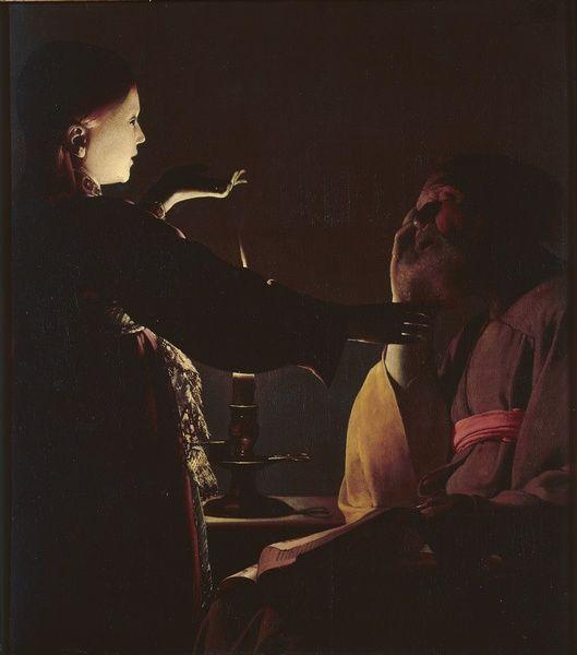Georges De La Tour L Apparition De L Ange A Saint Joseph Dit Aussi Le Songe De Saint Joseph 1652 Before Francisco De Zurbaran Musee Des Beaux Arts St Joseph