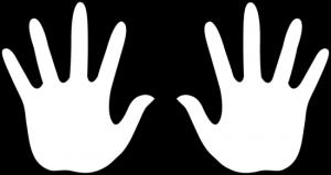 Mano Derecha E Izquierda Para Imprimir Busqueda De Google Moldes De Manos Pies De Bebe Dibujo Imagenes De Huellas