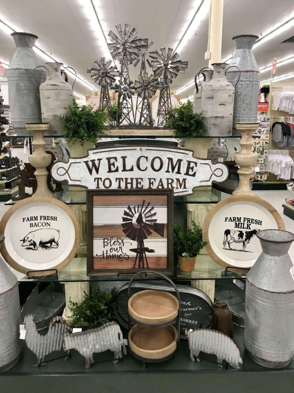 hobby lobby farmhouse decor ideas