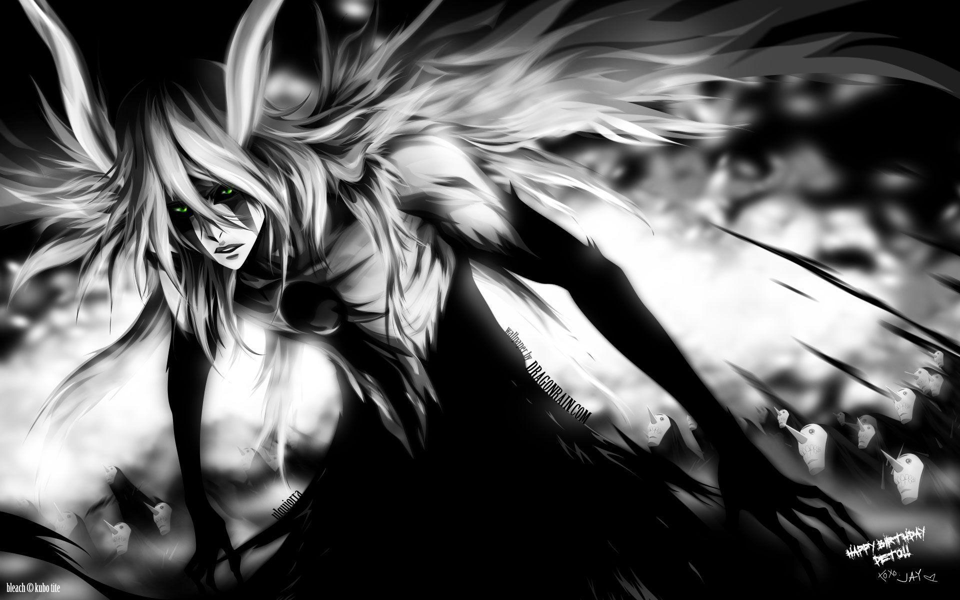 Ulquiorra Cifer Espada Bleach 0346 Hd Wallpaper Anime Oscuro
