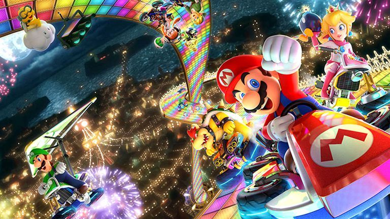 12 Great Local Multiplayer Games You Can Play Offline Mario Mario Kart 8 Mario Kart