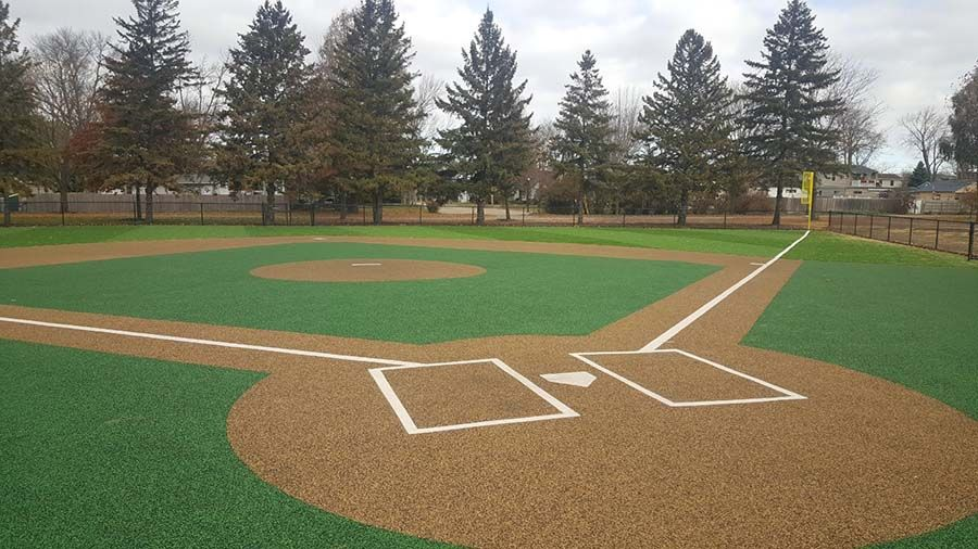 Batter Up Northland Recreation No Fault Hit This One Out Of The Park Ericka Steltz Of Northland Recreation Little Tikes Comm Baseball Field Field Baseball