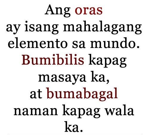 About Love And Relationships Tagalog Quotes Hugot