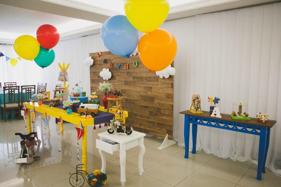 Festa Infantil - Brinquedos do Arthur   Decoração: Rubia de Lima, Fotografia: Edu Ribas e Jaqueline Mai,  Vídeo: Exclusive Filmes