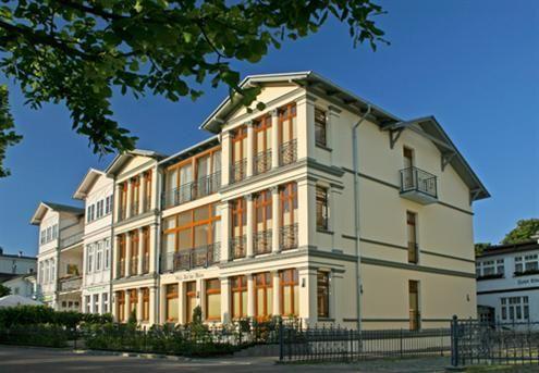 Villa auf der Düne, Strandpromenade, Ahlbeck, Insel Usedom