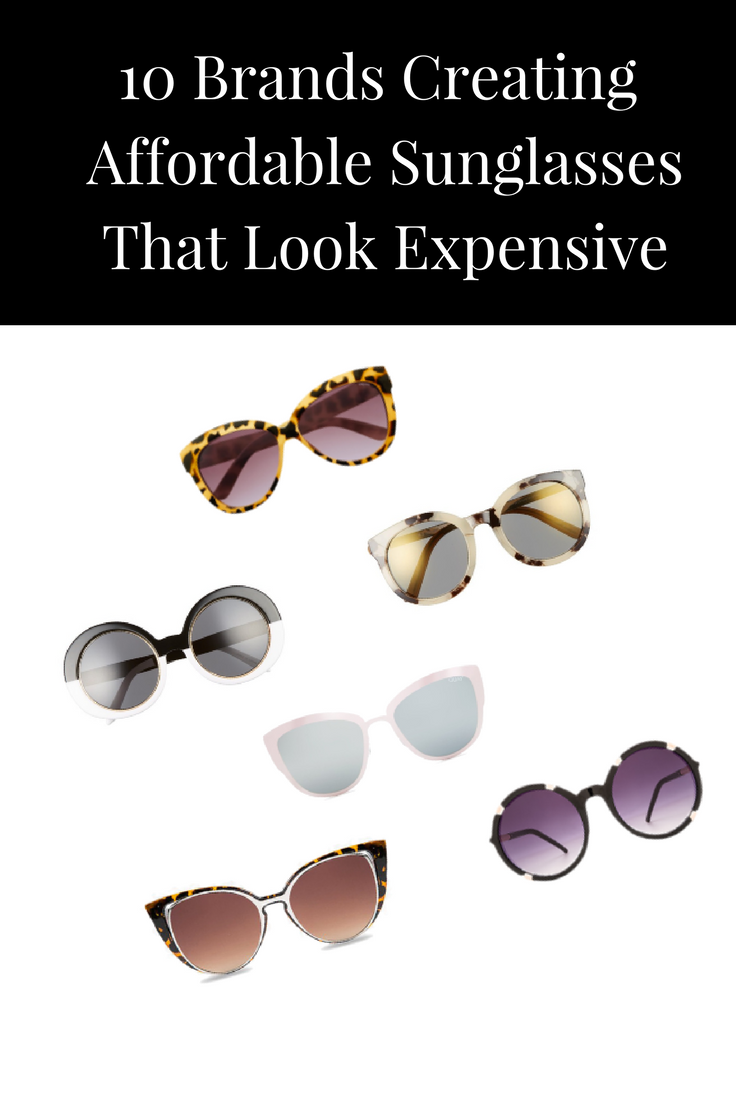 Discover the top sunglasses brands creating good quality versions that are  both stylish and affordable! Click through link to view the entire list. 9c47f3af6246