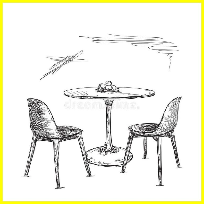 101 Reference Of Table Chair Drawing Download In 2020 Chair Drawing Table And Chairs Chair