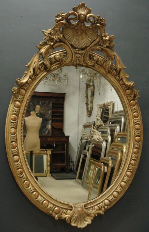 Antique Mirror and reflection...