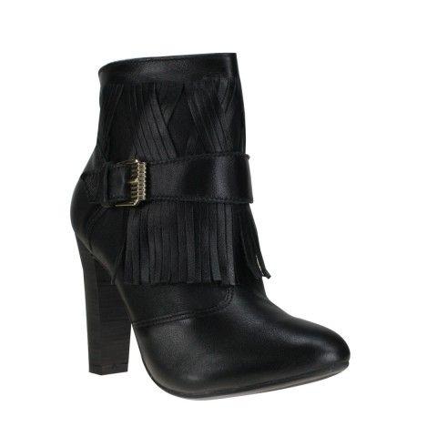 Bota Feminina Ramarim Total Comfort 1476136 - Preto (Confort Soft) - Calçados Online Sandálias, Sapatos e Botas Femininas | Katy.com.br