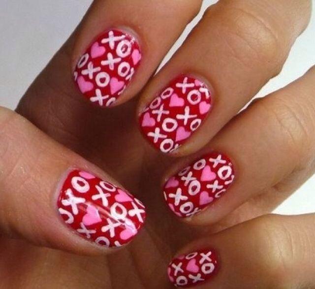 Xoxo Nail Art Nails Pinterest