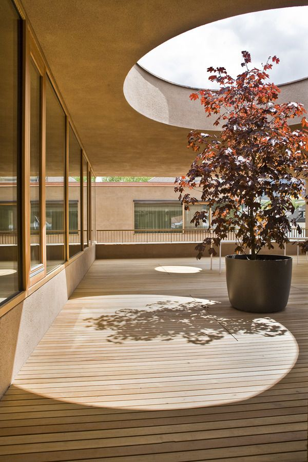 Pflegeheim bruneck by pedevilla architects via behance for Raumgestaltung im alter