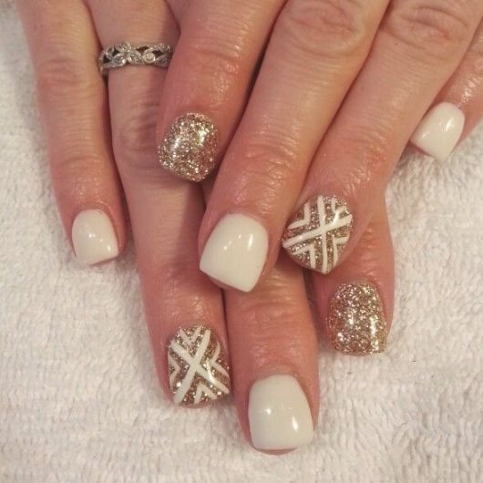 Pin By Annabelle Webster On Gel Nail Designs Pinterest Gold Gel