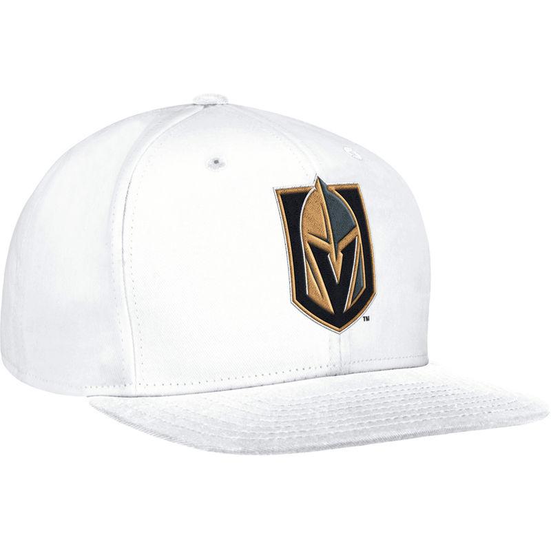 123c89050f9 ... uk vegas golden knights adidas basic snapback adjustable hat white  0ad27 c7521