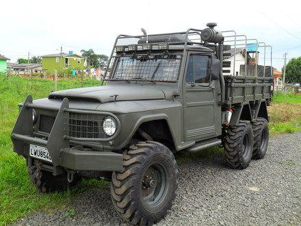 Ford F75 6x6 F75 6x6 Diesel V8 270cv Militarizadaemsombrio