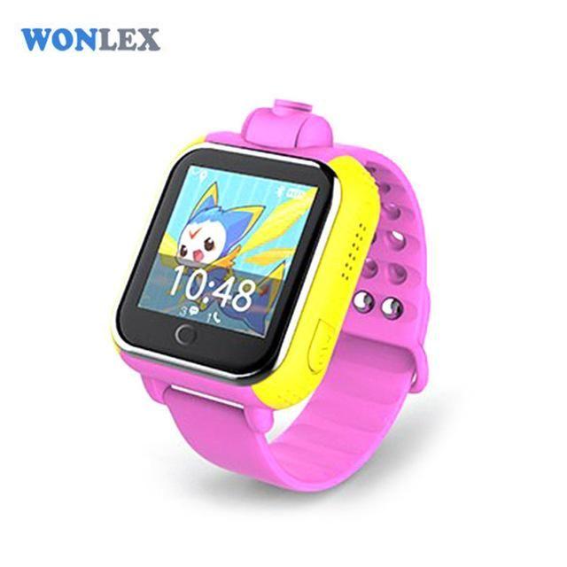 Wonlex 720P 3G WCDMA Remote Camera GPS LBS WIFI Location Kids GPS Watch GW1000 1.54 Touch Screen Smart SOS Tracker