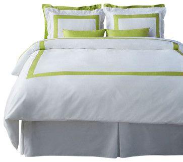 LaCozi Spring Green Duvet Cover Set - modern - Duvet Covers And Duvet Sets - LaCozi