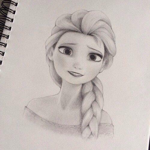 Draw Better Portraits Online Class Disney Drawings Elsa Drawing