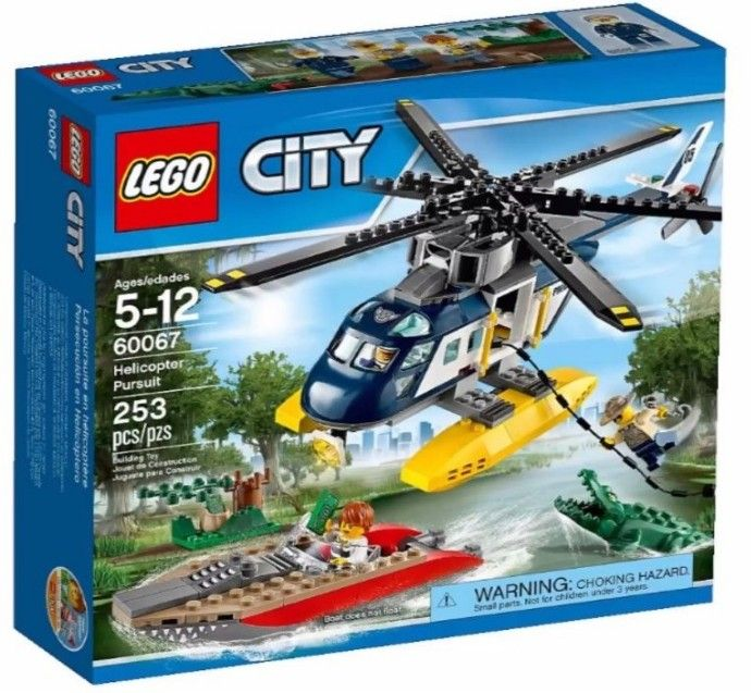 2015 Lego City Helicopter Lego City Police Helicopter Lego City
