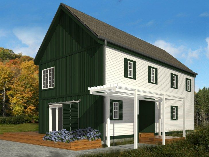 Blu Homes Unveil Classic New England Style Lofthouse
