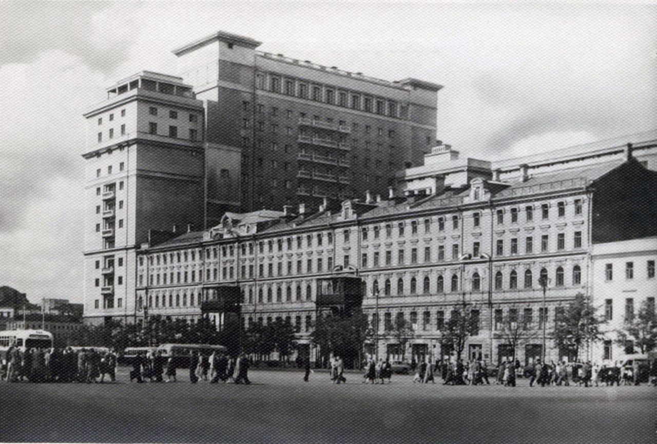 Гостиница «Гранд Отель». 1956