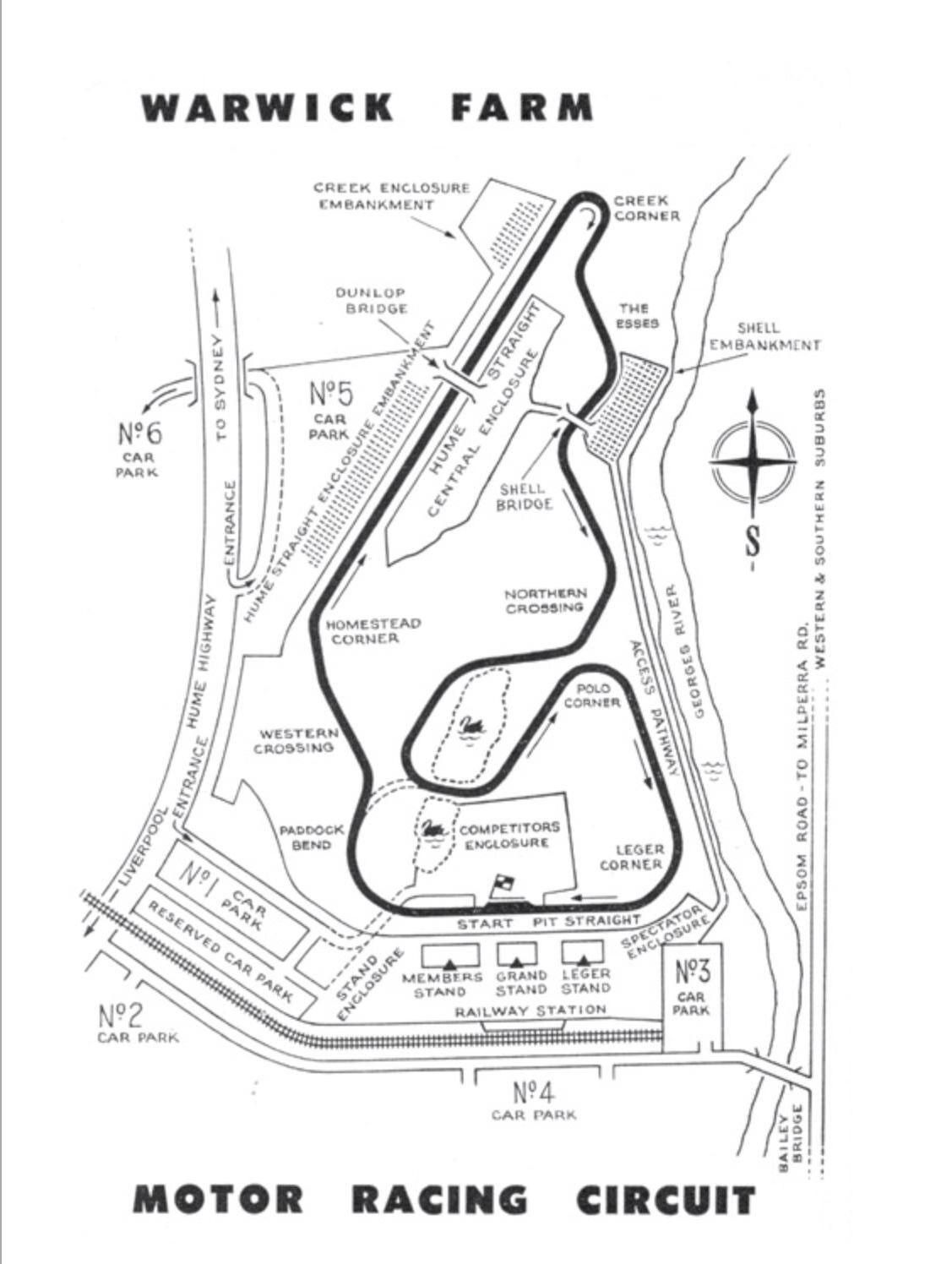 Warwick Farm Sydney Gods Little Acre Of Motor Racing
