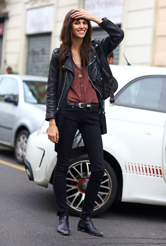 Ruby Aldridge, Milan Leather