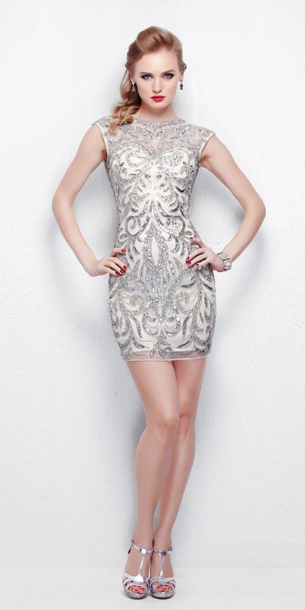 Sexy Sequin Cocktail Dress 1309 - Primavera Couture - 1309 - $289.00 ...